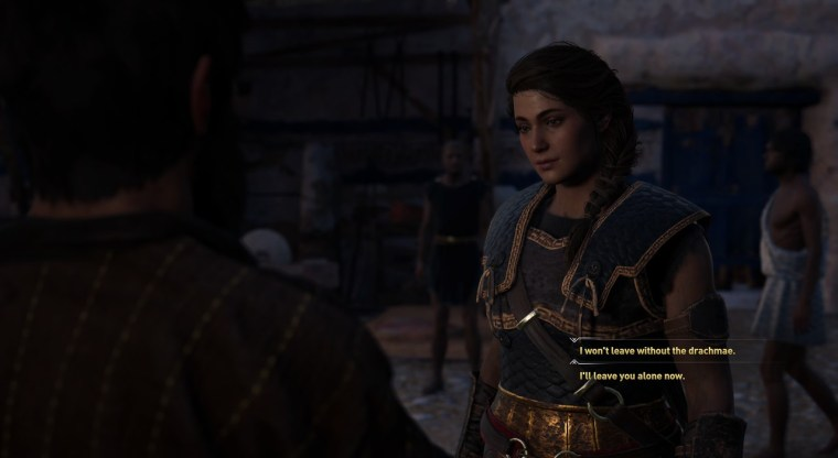 Debt Collector choices assassin's creed odyssey kephallonia island