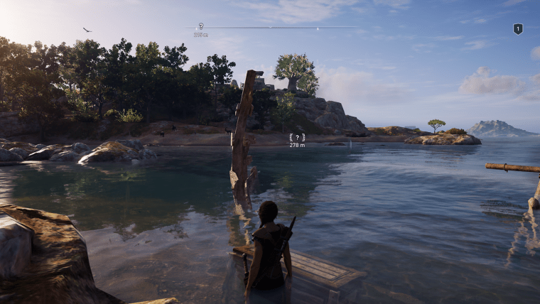 Wreckage of the Lost Bandit assassin's creed odyssey kephallonia islands