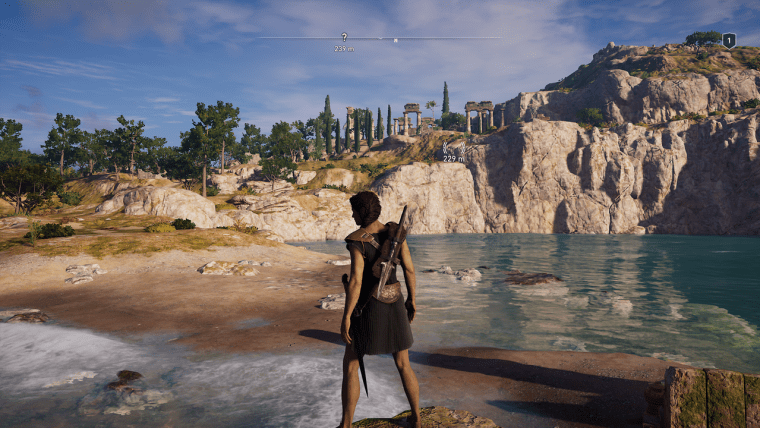Temple of Zeus Chthonios assassin's creed odyssey kephallonia islands