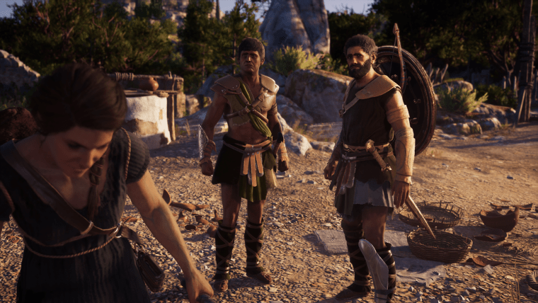 So It Begins Assassin's Creed Odyssey Kephallonia Island