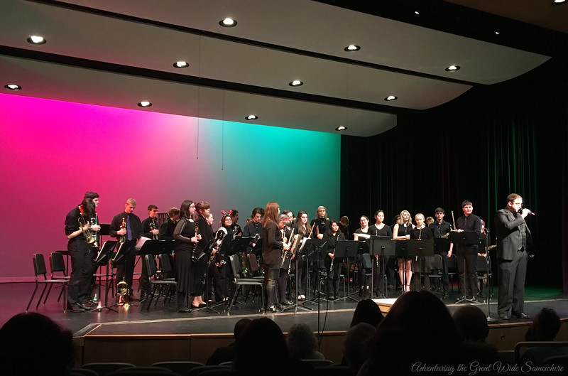 Lake Washington High School Band Concert