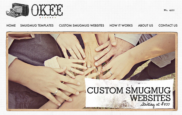 Okee.co for SmugMug Customization