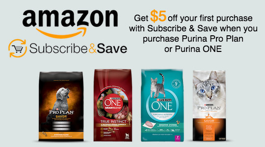 Got pets? Love savings? With this Subscribe & Save offer on Amazon.com, save $5 off your 1st Purina purchase w/ sign up, get more savings #ad #PurinaPetPack