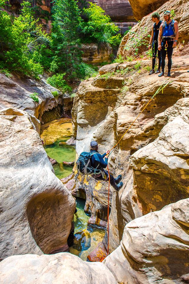 Hiking the Subway Top-Down Trail Description