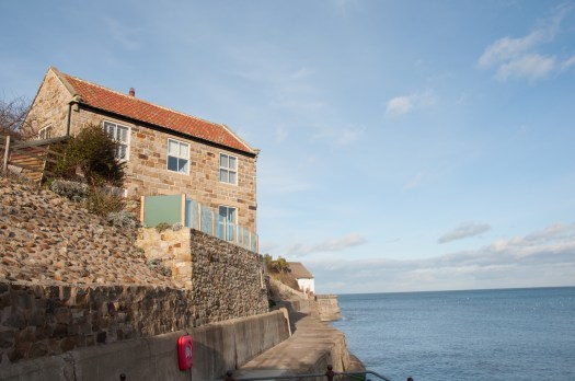 seaside houses old & new at Runswick Bay