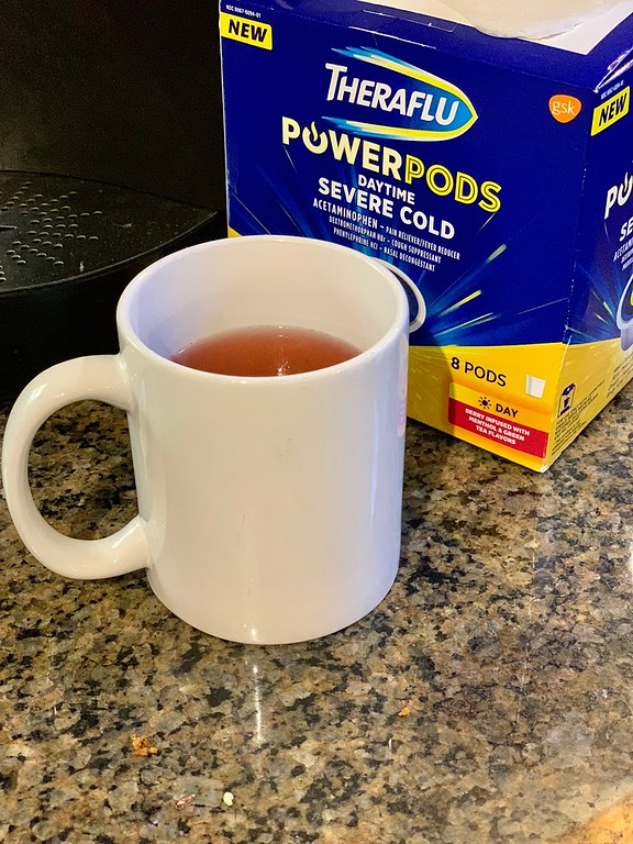 #ad How do we fight cold and flu symptoms? Theraflu PowerPods - powerful OTC medicine to shorten and reduce the symptoms of cold and flu. #TherafluatWalmart #DoSickDifferently