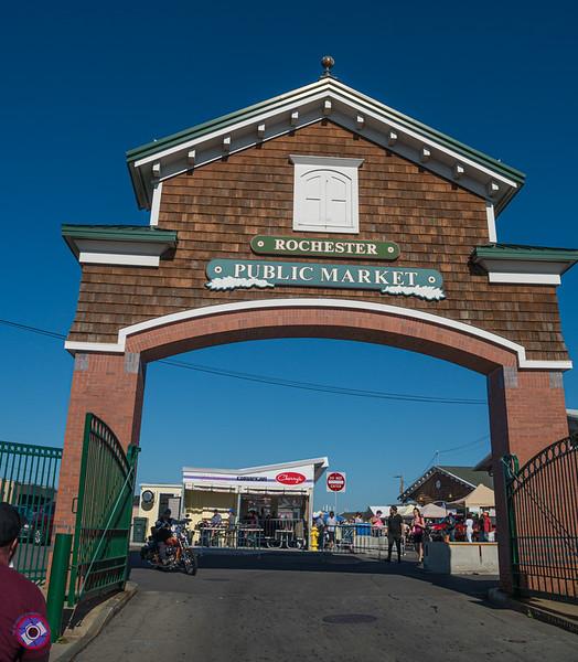 Entrance to the Rochester Public Market (©simon@myeclecticimages.com)
