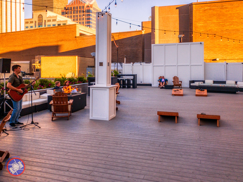 The Center City Terrace at the Hyatt Regency Rochester (©simon@myeclecticimages.com)