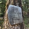 Old school wilderness sign.