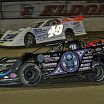 for the lead 0 Scott Bloomquist 49 Jonathan Davenport