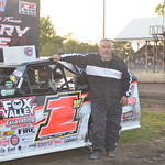 Bob Pohlman was the overall fast qualifier for the AMS 8th Annual Casey General Store Modified Nationals