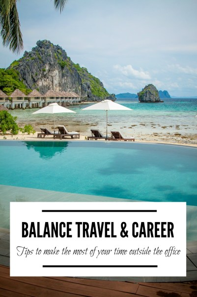 Let's reverse the trend of unused vacation days! Check out these tips on to balance travel and career. Make the most of your time outside the office without sacrificing success! | www.eatworktravel.com - The luxury, adventure couple!