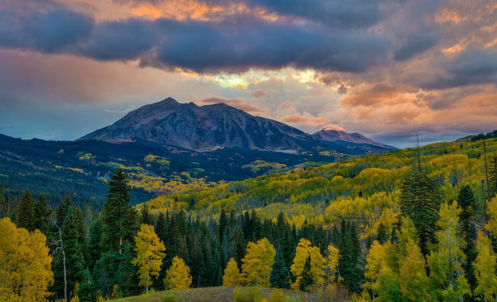 Colorado Fall Foliage Kebler Pass