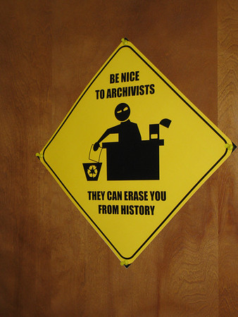 Be Nice to Archivists