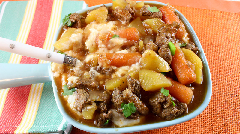 A good crockpot beef stew is the perfect recipe to have simmering on busy weeknights or during lazy Sunday afternoons. And it's easy to make!