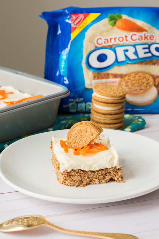 Have you tried these two NEW OREO flavors? Read all about them here, and see how we make Carrot Cake OREO Blondies that are delicious #ad #OREOatWalmart #IC