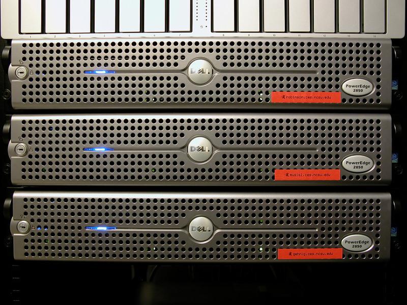 "The ""Servers"" circa 2006"