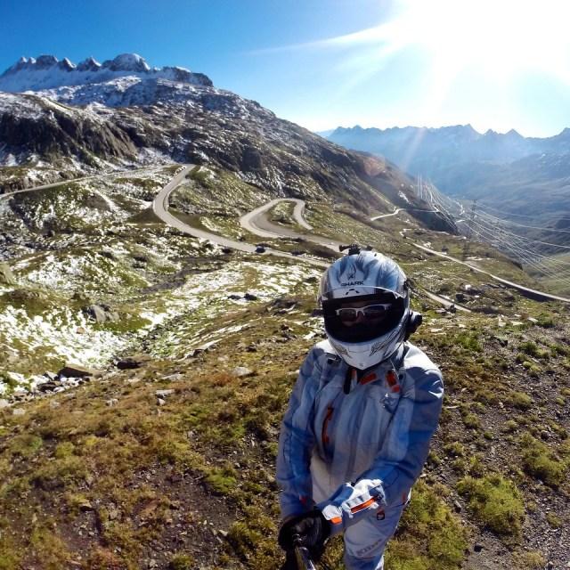 Fuzzygalore on the Neufenen Pass in Switzerland