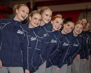 Northwest Suburban Conference Championships, Dec. 15, 2018. Elk River High School. Photo by Matt Blewett