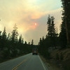 Driving home through Yosemite we were behind several fire vehicles heading to the El Portal Fire