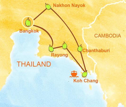Thailand Durian Tour