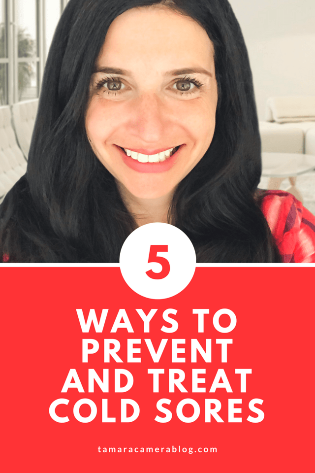 The truth is, cold sores are no one's friend! Here are 5 good tips for preventing and healing cold sores on yourself but making sure they don't spread to your family and friends either! It's not fun, but there is relief! #ad