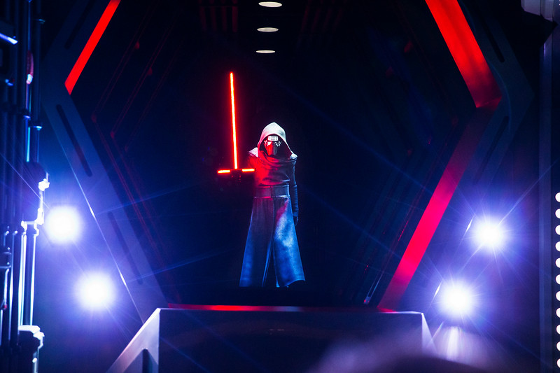 Kylo Ren in Star Wars: Rise of the Resistance