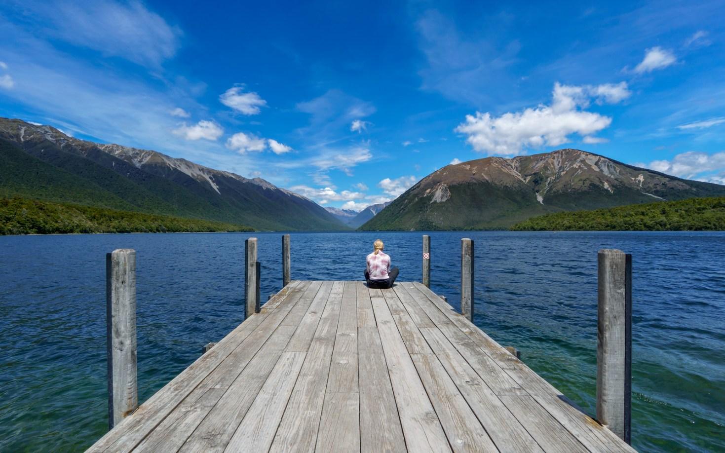 Dreaming away over the Lake Rotoiti