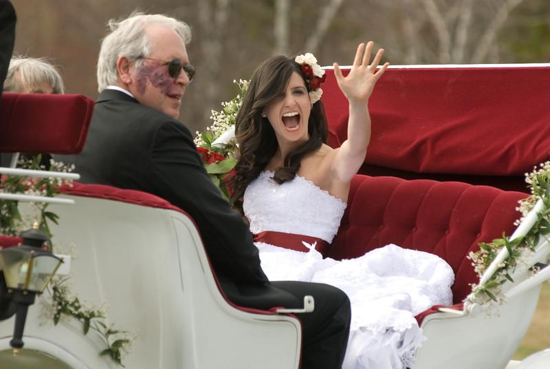 wedding smile bride