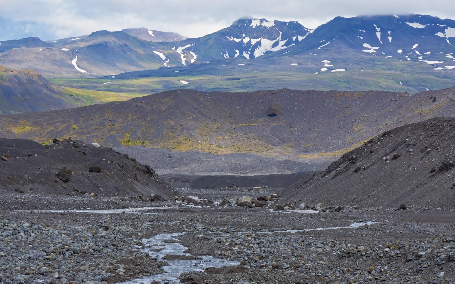 Vulcanic landscape Thórsmörk