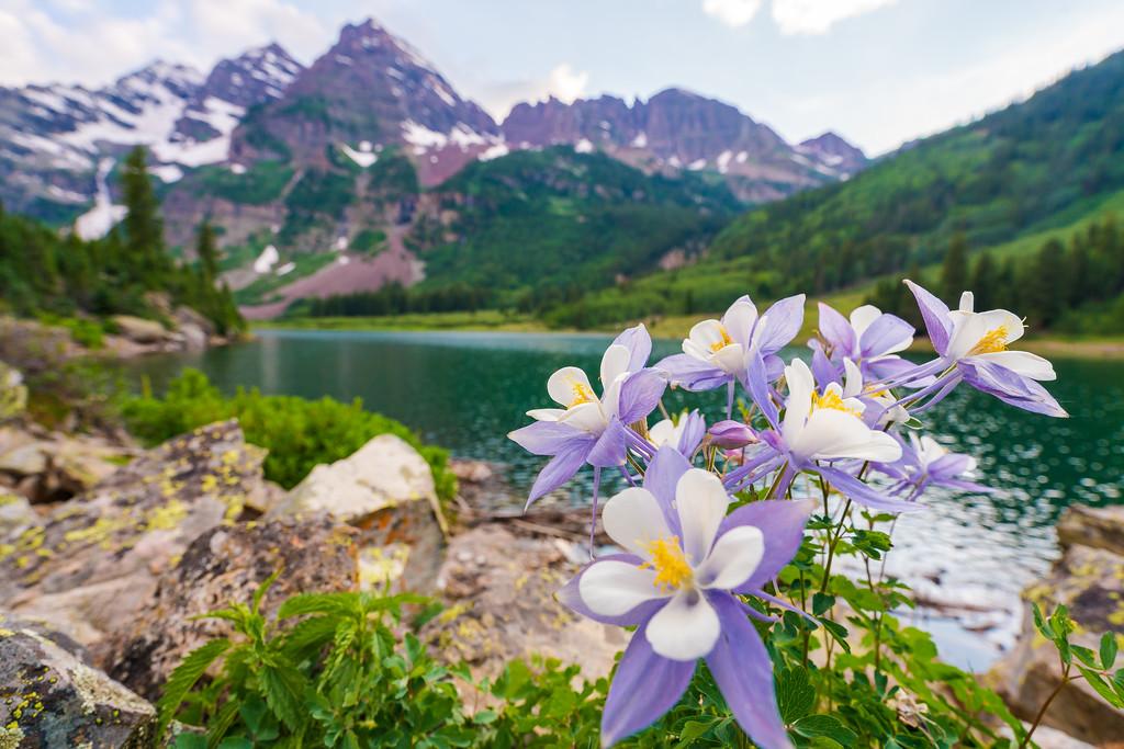 Crater Lake Aspen Colorado Maroon Bells Snowmass Wilderness