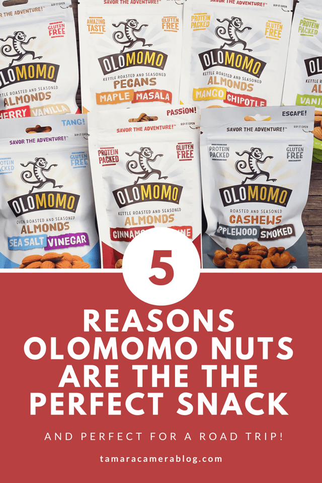 OLOMOMO Nuts are the perfect snack for daily life and road trips. They are made sustainably and have unique and delicious varieties. #ad