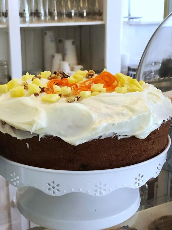 Carrot Cake at La Fabrique de L'Isle on L'Isle-aux-Coudres