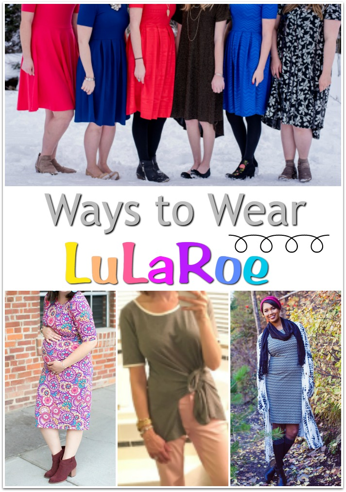 Are you intrigued by LulaRoe? There are so many beautiful ways to wear the many styles, and there's something for everyone. Visit the links to be inspired.