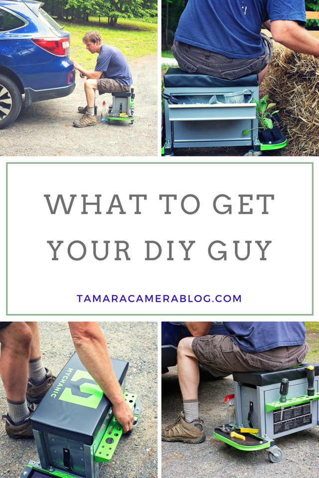 What do you get the #DIY guy in your life? The one who can create, build, recreate, and rebuild everything? Mychanic! #gifts #AD TurnYourOwnWrench @Mychanic