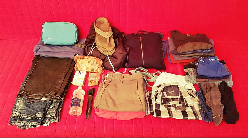 Full-time traveler - all my stuff