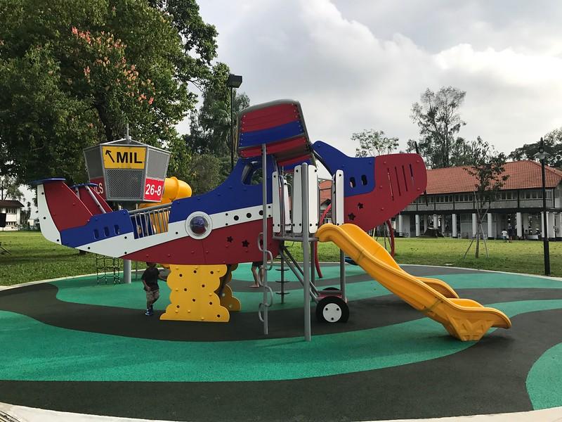 Seletar Aerospace Park Playground
