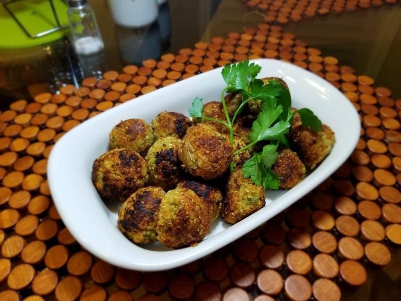 Vegan Quinoa Bites