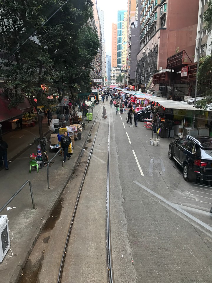 A Ride Through Chun Yeung Street in Hong Kong