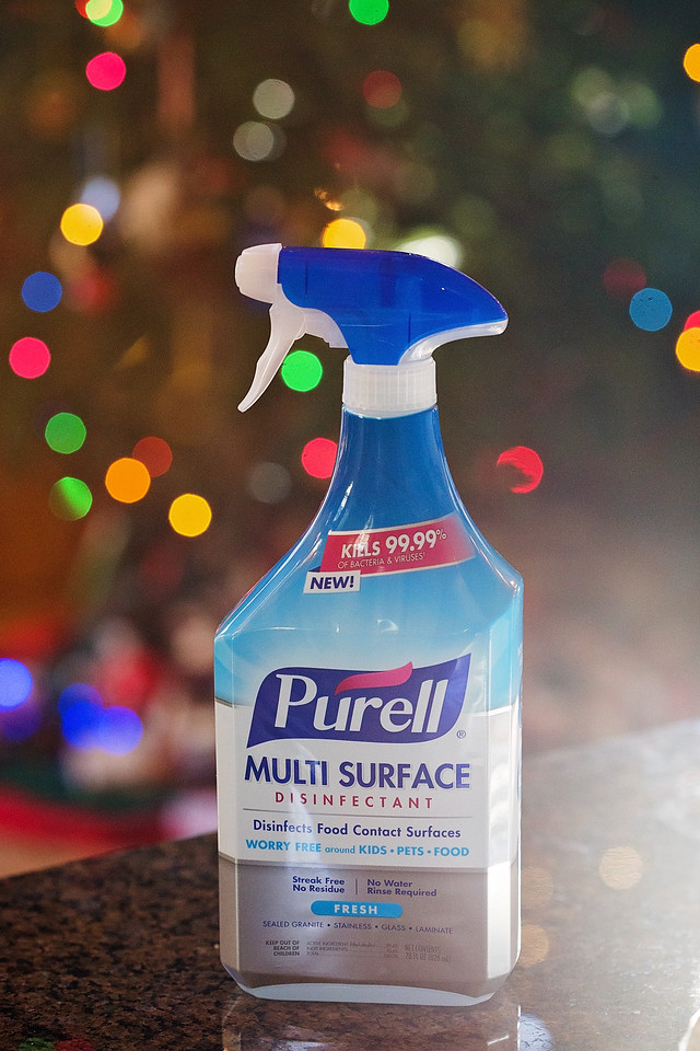 Ready to be germ-free all holiday season long? Us too! Enjoy the wonders and benefits of PURELL® Multi Surface Disinfectant from Amazon.com. It comes fast and works where needed. EVERYWHERE. Enjoy! #ad #PURELLSurface #IC