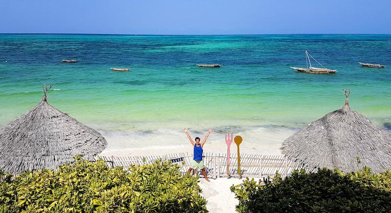Trip to Zanzibar - Jambiani beach colors
