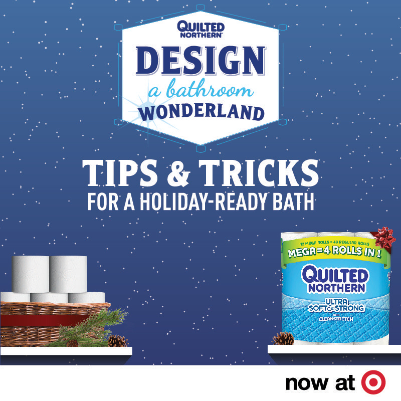 Have holiday guests coming soon? From 12/4 - 12/31, you can find even more great Quilted Northern savings with this 10% Target Cartwheel offer!