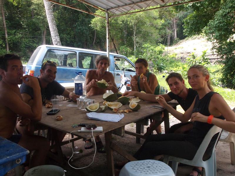Durian in Batu Ferringhi
