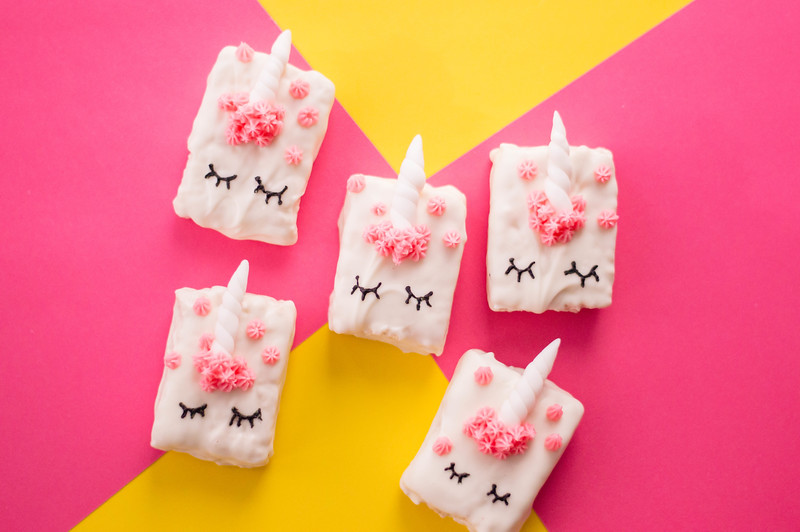 unicorn cereal treats