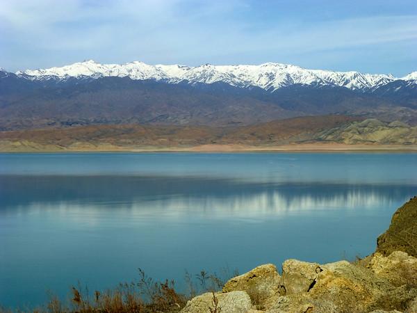 Scenery near Jalalabad, Kyrgyzstan