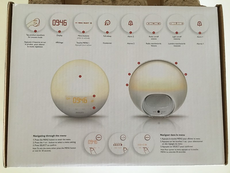 Philips HF3520 Wake-Up Light With Colored Sunrise Simulation