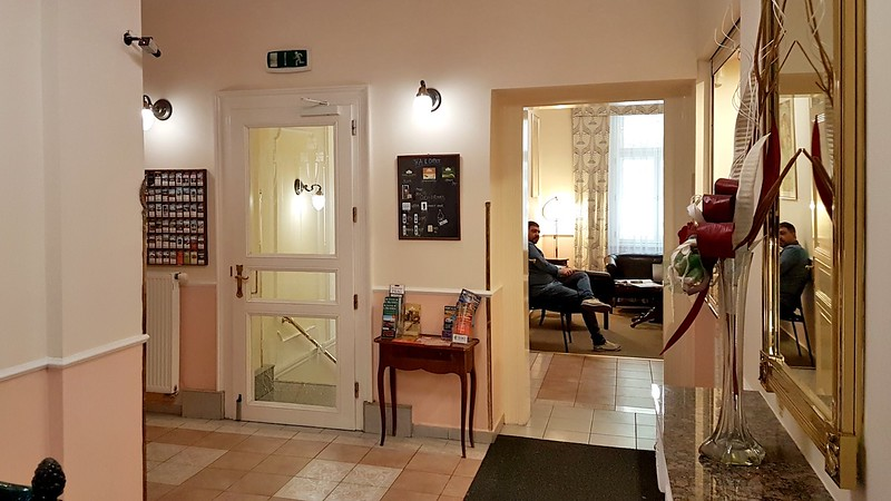 Small Hotels in Prague - lobby