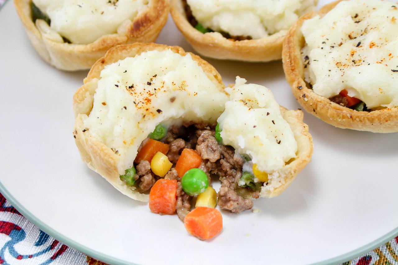 Shepherd's Pie Mini Bites