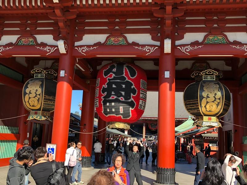 Sensoji at Asakusa and how to get to Odaiba