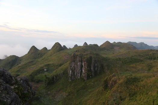 The view from Osmeña Peak
